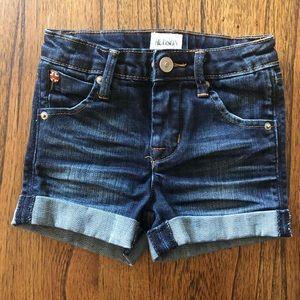 Hudson babygirl denim shorts